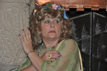 "Susan Rossman as Celestia Moonbarken in ""Antiques Revengeshow"""
