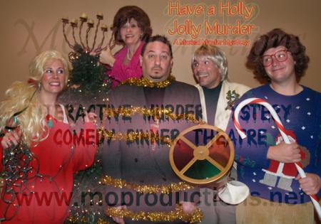 Have a Holly Jolly Murder - A Musical Murder Mystery