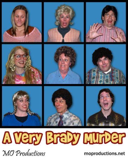 A Very Brady Murder Publicity Shot
